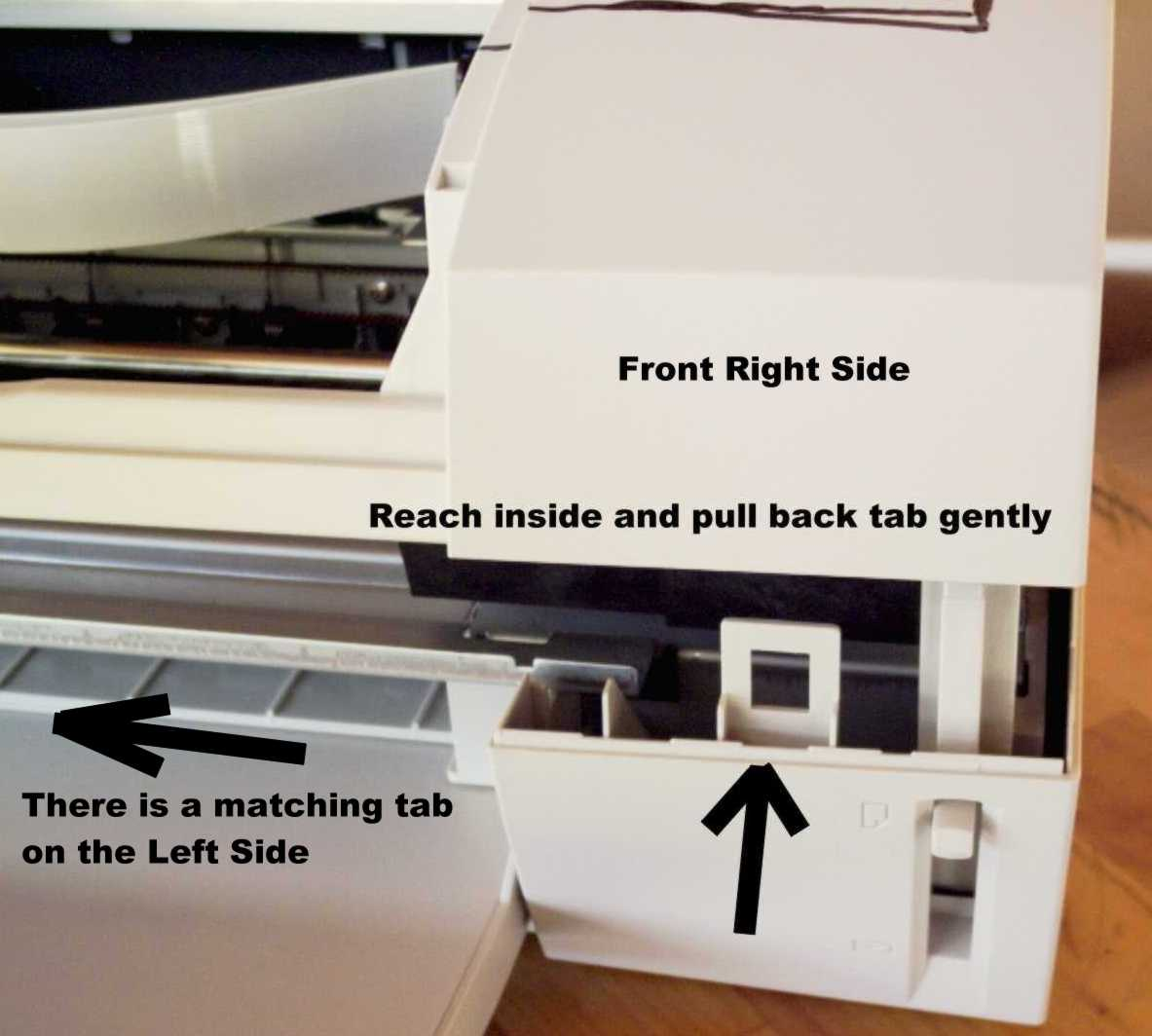 Canon inkjet cleaning and waste ink pad resetting